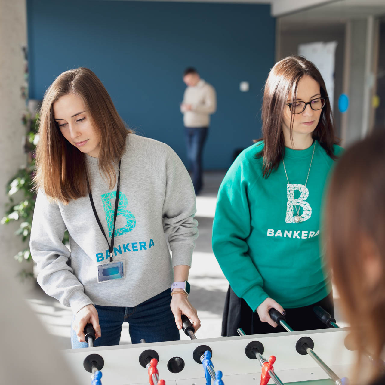 Bankera provides its employees with a number of office perks.